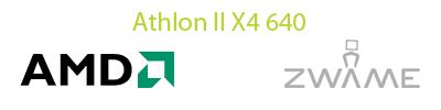 [Analise] AMD Athlon II X4 640 Logo