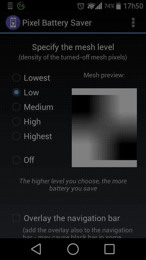 pixel battery saver