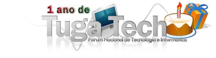 "Passatempo ""1 ano de TugaTech"" - Final Logoby10"