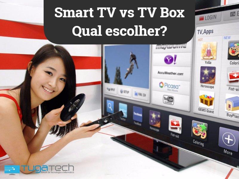 Smart TV vs TV Box – Qual escolher?
