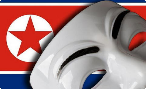 Anonymous contra a Coreia do Norte