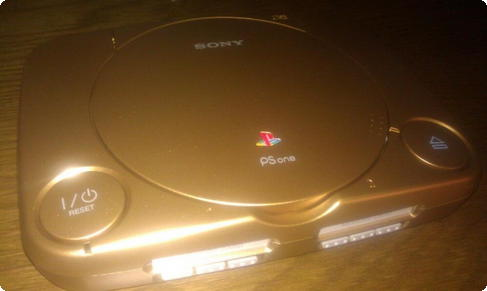 Sony PSOne Gold
