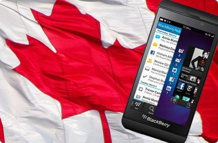 Blackberry e Canadá