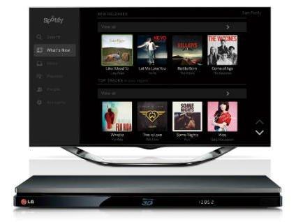 Smart Blu-ray LG