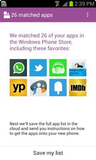 Windows Phone Google Play