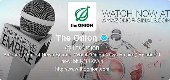 Twitter The Onion