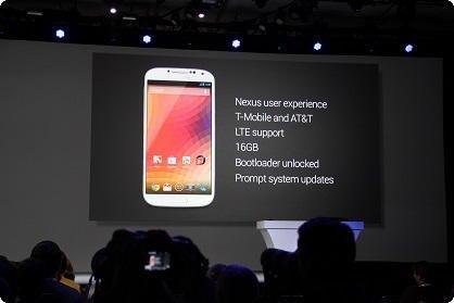 Samsung Galaxy S4 - Google Edition