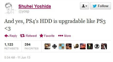 PS4 HDD