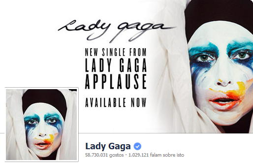 Facebook Lady Gaga