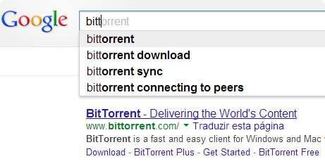 Bittorrent Google