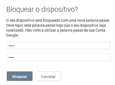 Android bloquear