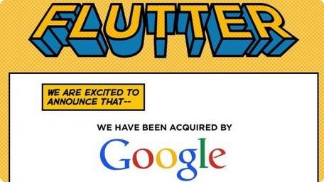 flutter e google