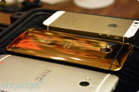 HTC One MOBO gold