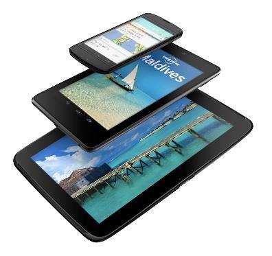 Nexus 4 e 10
