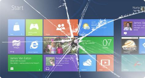 Windows 8 bugs