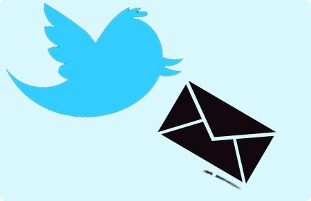 Twitter para o email