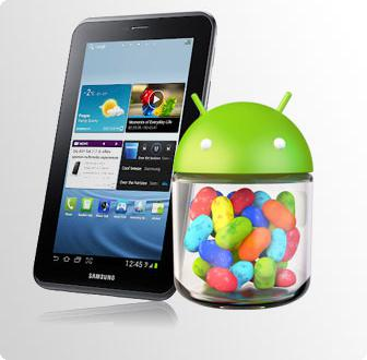 Samsung Galaxy Tab 2 7.0 recebe Android 4.1.1 Jelly Bean em França