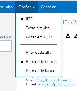 Como enviar um video incorporado no email? Tugatech-2012-12-03_14.54.42