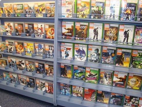 Venda de jogos online