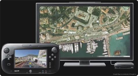 Street View na Wii U