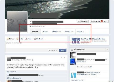 Timeline do Facebook