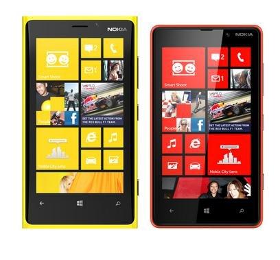 Nokia Lumia 820 e Lumia 920
