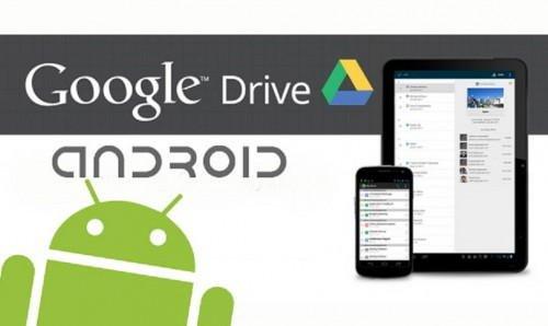 android e google drive