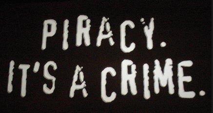 pirataria é crime
