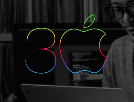 apple 30 anos