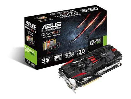 Asus GeForce GTX 780 Ti DC