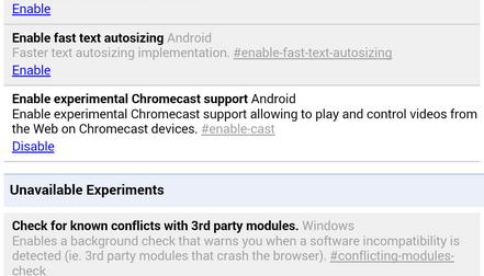 chrome beta 34 para android