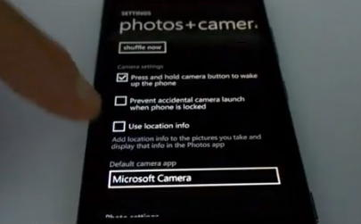 Microsoft camera windows phone 8.1