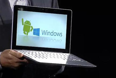 Asus Android e Windows