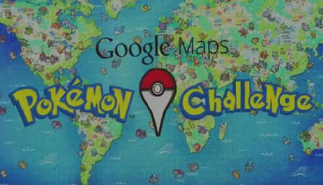 google maps pokemon