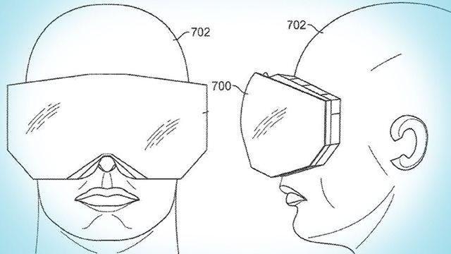 patente apple realidade virtual