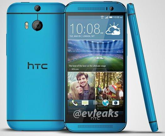 htc one m8 azul