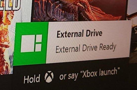 xbox one drive externa