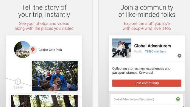 google plus ios nova atualização