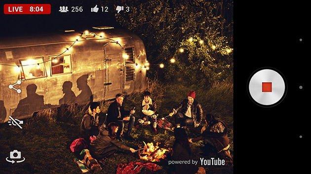 sony xperia live youtube