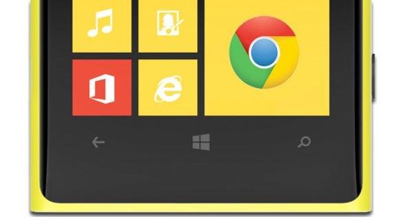 windows phone chrome