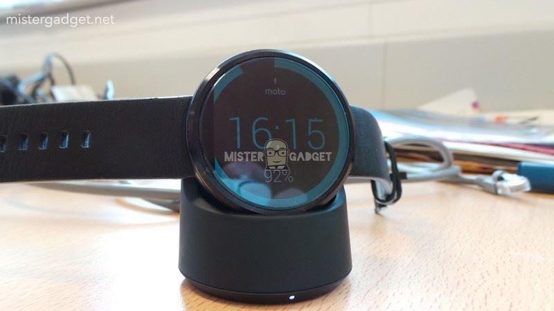 Moto 360 carregador