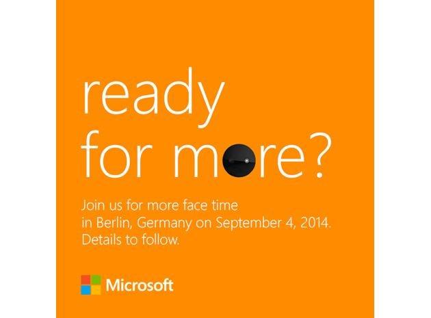 Microsoft convite