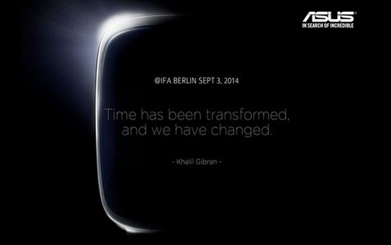 asus smartwatch ifa