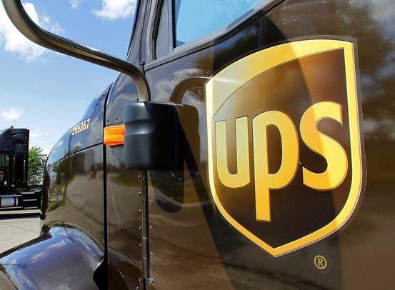 ups car