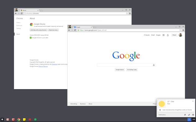 chrome os windows 7