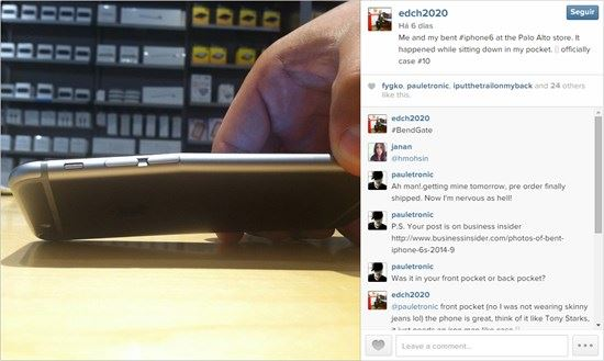 iphone bendgate