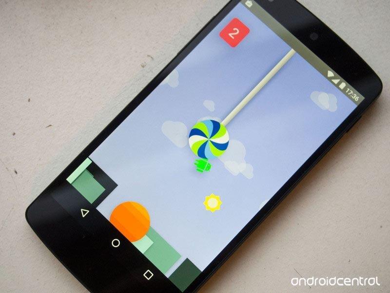 Android lollipop easter egg