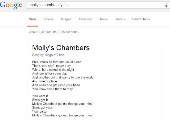 google letra musicas