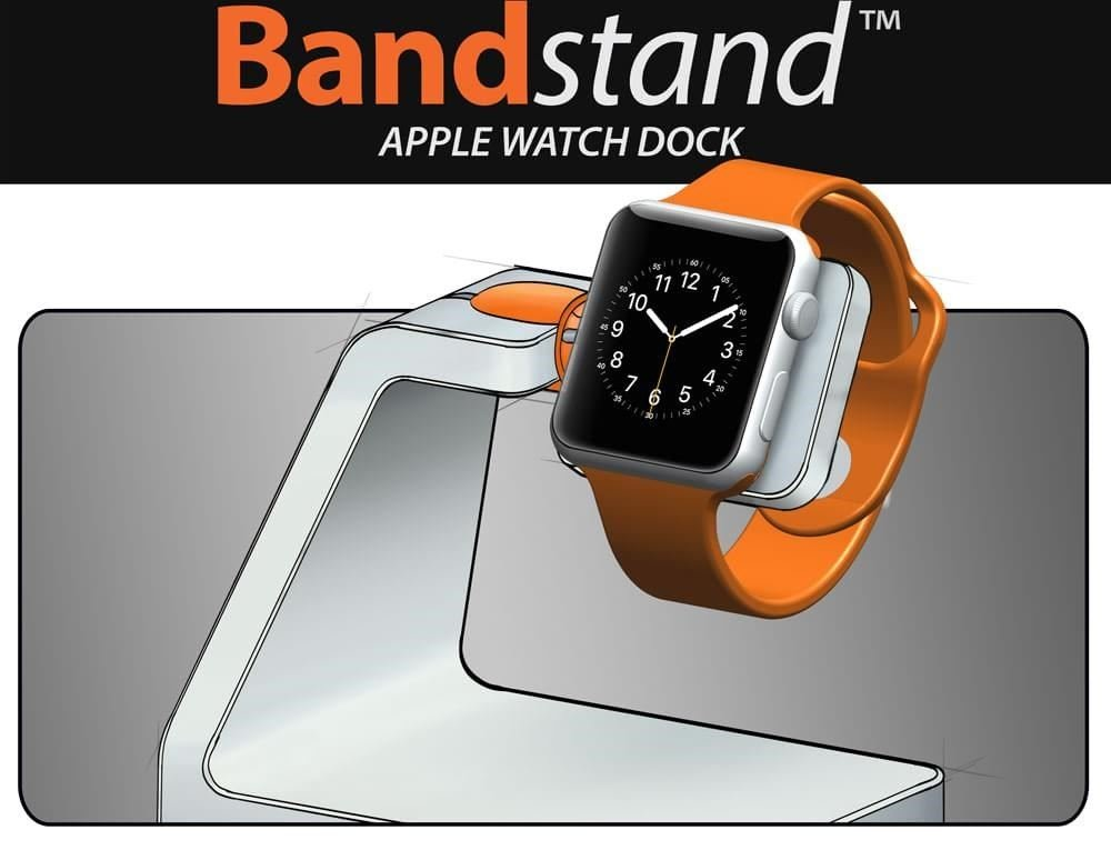 bandstand apple watch