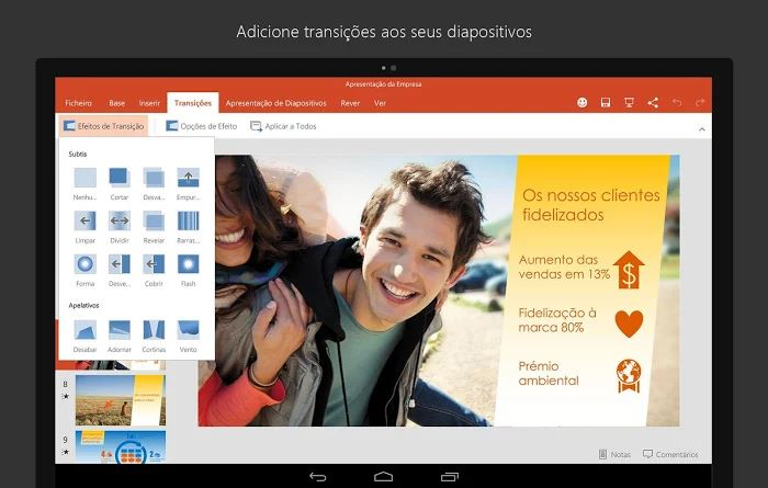 office android tablet